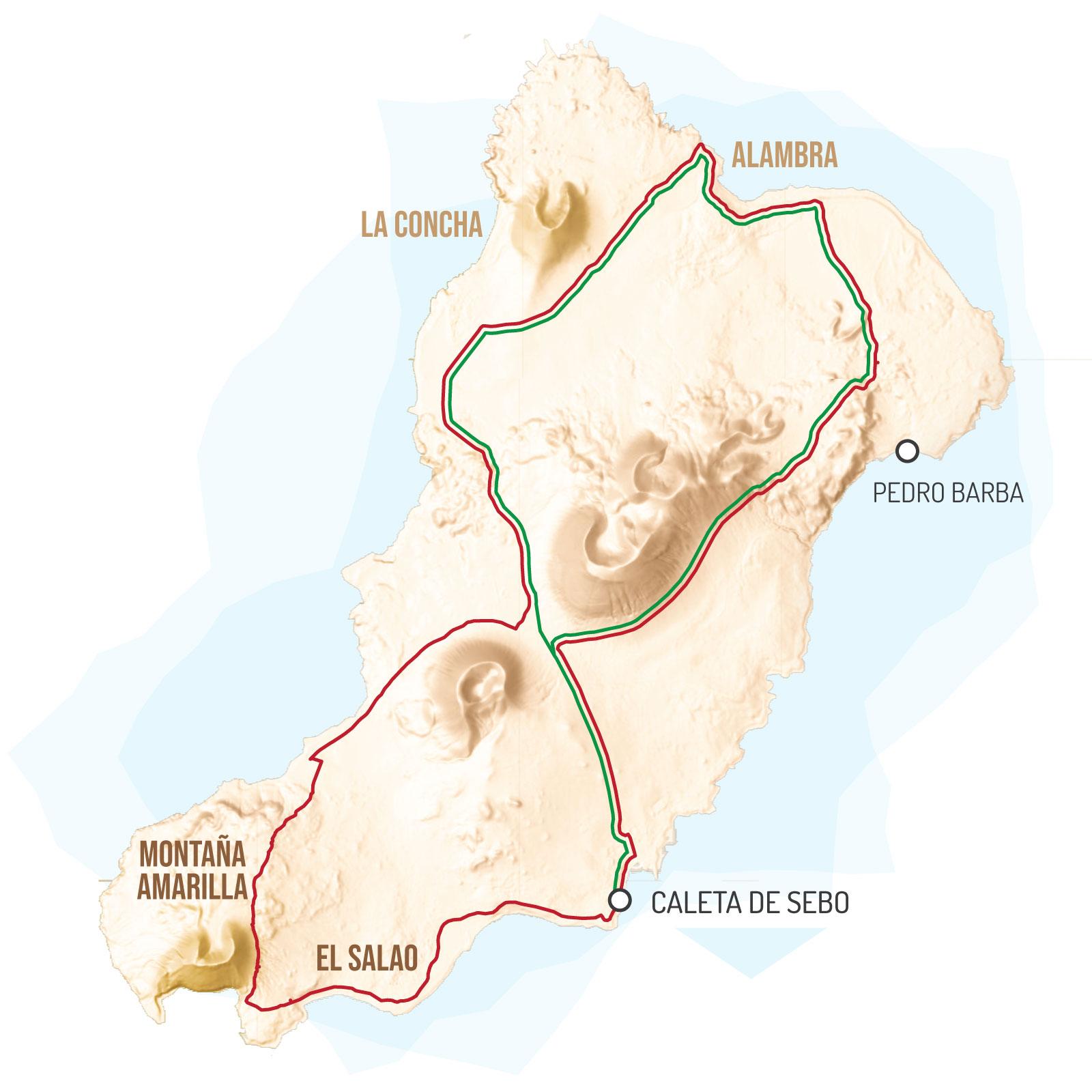 La Graciosa GranGuanche bikepacking canary islands