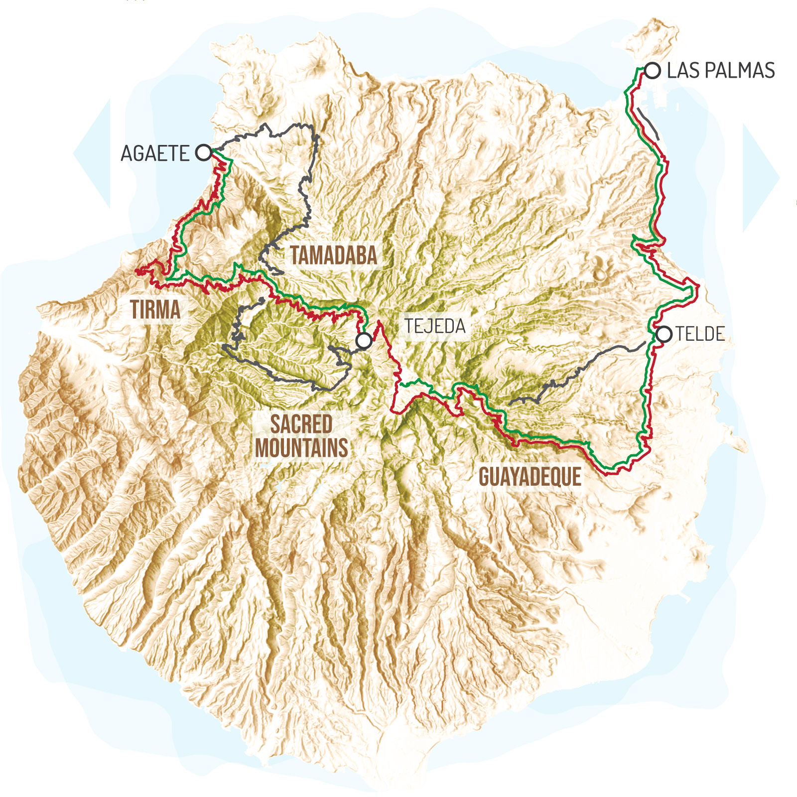 GranCanaria GranGuanche bikepacking route